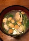 ハマグリの潮汁