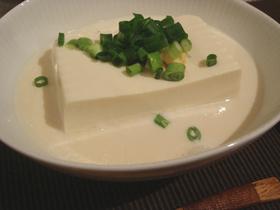 簡単&絶品!!豆腐の豆乳蒸し