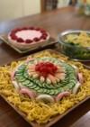 ひな祭り、お誕生日に、お寿司ケーキ