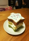三色ホットケーキ