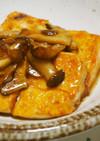 エリンギニンニクのせ♪豆腐ステーキ♪