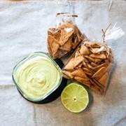 糖質制限 アボカドディップ ワカモレの写真