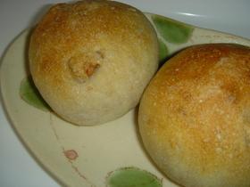ノンバター♪プチフランス胡桃パン
