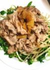 お肉と野菜の醤油炒め