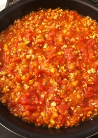 *離乳食後期*豚挽肉と野菜のトマトソース