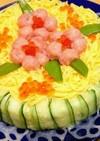 誕生日やひな祭りに♪ちらし寿司ケーキ
