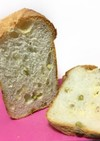 HBで枝豆チーズフランス食パン