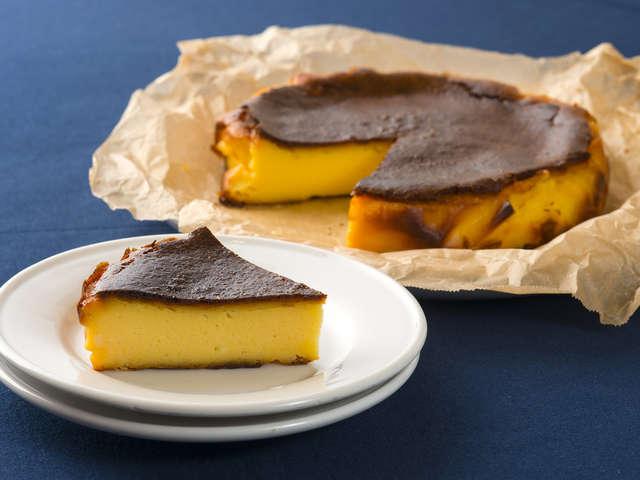 簡単に本場の味♡バスクチーズケーキ