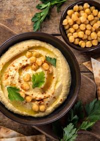 簡単ヘルシー❁ひよこ豆のフムス