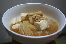 豆腐と鶏皮の炒め煮✿
