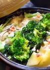 牡蠣とジャガイモの明太ミルク煮