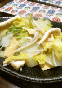 白菜と油揚げのさっと煮