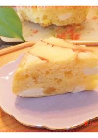 リンゴとクリチのケーキ★HMで炊飯器OK