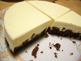 定番☆シンプル☆レアチーズケーキ