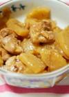 大根と鶏もも肉の生姜煮