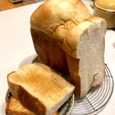 HBで簡単フワフワ食パン