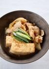 サッと煮て【豚肉豆腐】豚ばら肉豆腐