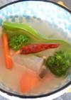 塩麹と米のとぎ汁で水キムチ