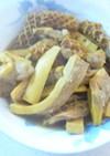 歯ごたえを楽しむ牛モツの味噌カレー煮込み