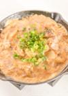 鯖の味噌煮缶の玉子とじ