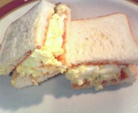 美味タマトーストサンド