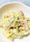 白菜漬けのポテトサラダ