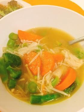 野菜スープ★コンソメなし肉なし簡単レシピ