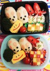 幼稚園(年中)双子のお弁当34
