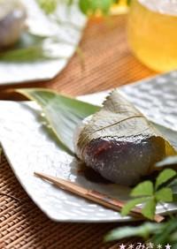 夏の冷菓✿くず桜(水まんじゅう)✿
