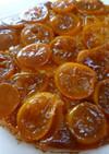 金柑と蜜柑のアップサイドダウンケーキ