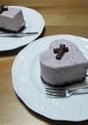 マキベリーのレアチーズケーキ