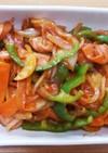 野菜のケチャップ炒め