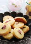桜のアイスボックスクッキー