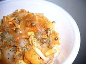 ハヤシソースのオムライス丼♬♬
