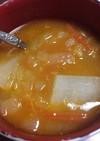 大根のラッサム風スープ