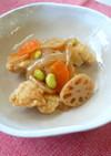 鶏肉と野菜の甘酢あんかけ★神戸市学校給食