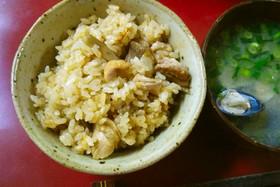鶏ごぼう炊き込みご飯 パート2