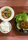 豚肉の味噌炒め(健康食)
