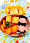 幼稚園お弁当 3歳6ヶ月①