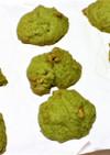 ドロップクッキー 胡桃&抹茶