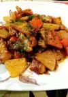 ご飯にピッタリ✨豚肉と大根のカレー炒め✨