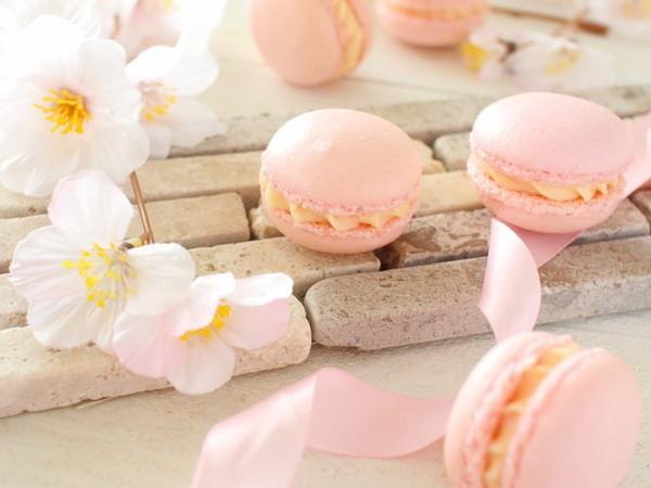 春色♪桜マカロン