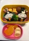ひな祭り 保育園弁当 3歳  3月