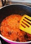 離乳食後期〜ナスとピーマンのトマト煮込み