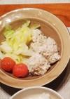 キャベツと鶏団子のスープ