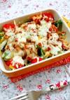 簡単10分☆野菜のオーブン焼き