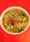 しらたきダイエットで-2kgな野菜スープ