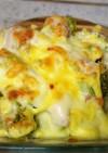 【時短簡単】ブロッコリーのチーズ焼き