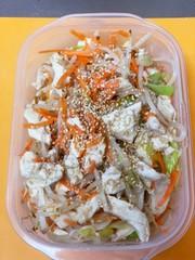 レンジのみ★蒸し鶏の中華サラダの写真
