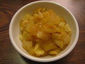 りんごの甘煮